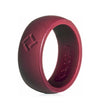 Men's Classic Burgundy, Kauai Pro-Athletes Series Silicone Ring