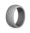 Men's Space Gray, Kauai Pro-Athletes Series Silicone Ring