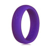 Women's Plum Crazy, Kauai Active Series Silicone Ring