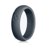 Women's Slate Gray, Kauai Active Series Silicone Ring