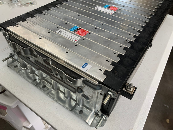LG Chem 14S battery module.  180Ah, 8.4 Kwh