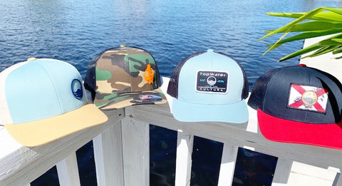 c06bf2bf7727b FLORIDA BOY TOPWATER CULTURE TRUCKER SNAP BACK HAT