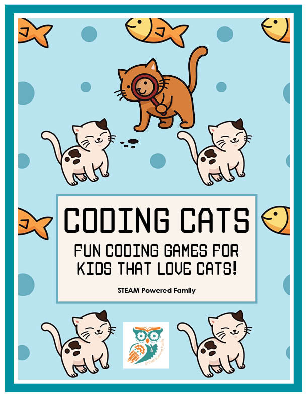 Coding Cats - Coding Games For Kids Who Love Cats (Screen Free)