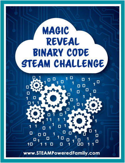 Magic Reveal Binary Code Challenge (Screen Free)