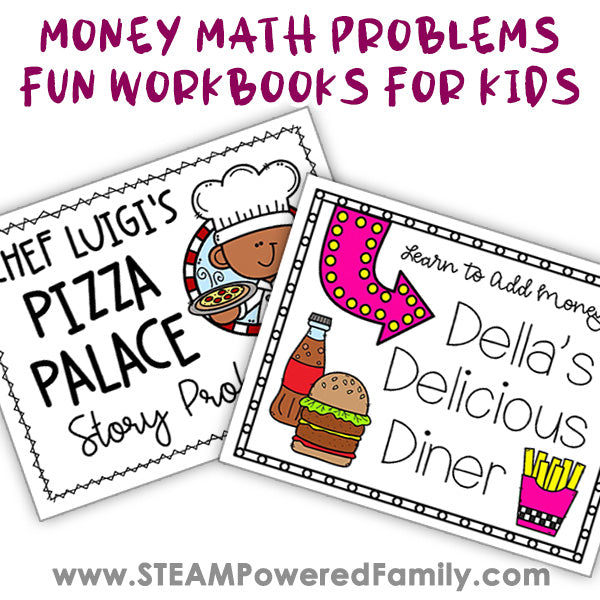 Money Math Skills for Elementary Printable Bundle