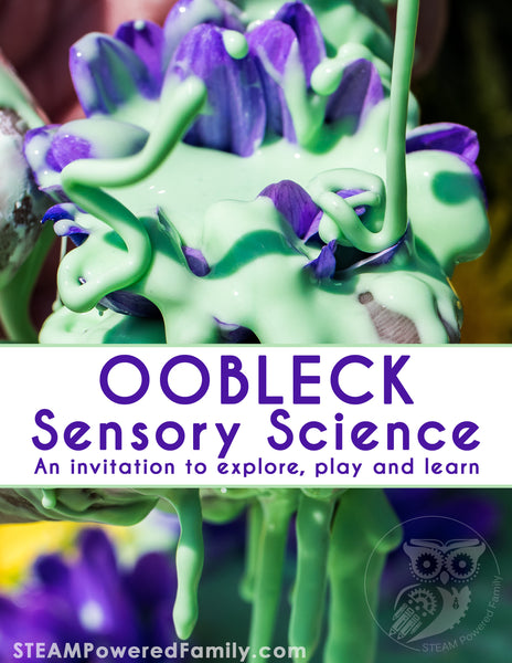 Oobleck Sensory Science eBook