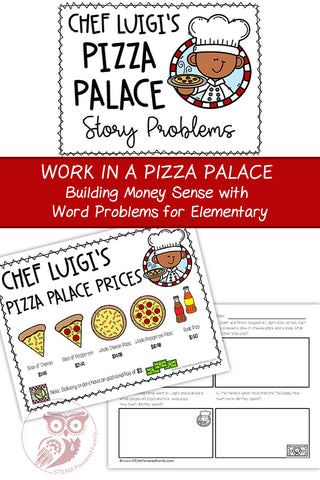 Pizza Palace Money Math Challenge