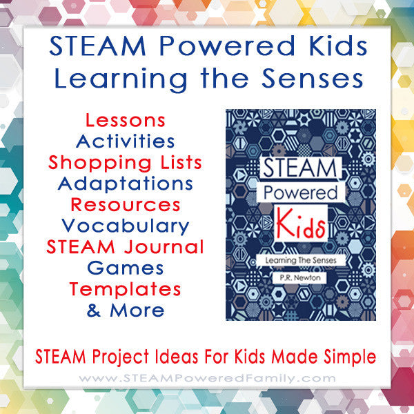 STEAM Powered Kids - Learning The Senses