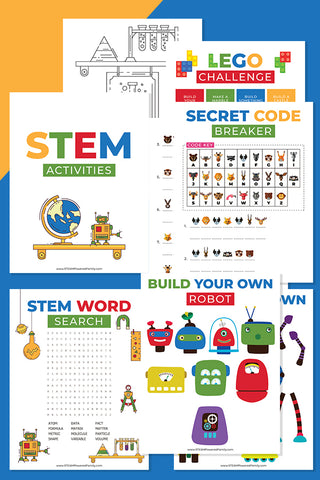 STEM Printable Activities Bundle