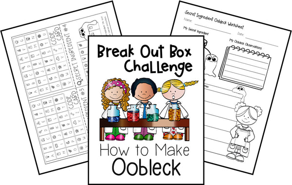 How to Make Oobleck Break Out Box Challenge