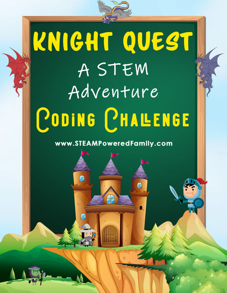 Knight Quest - Coding Game (Screen Free)