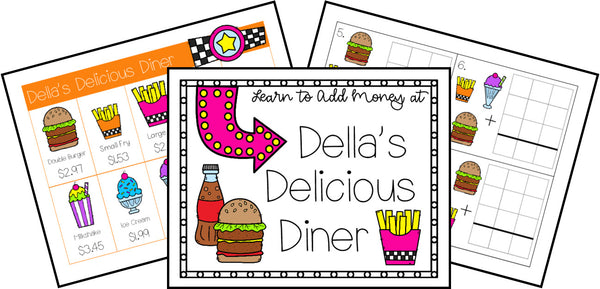 Della's Delicious Diner Money Math Challenge