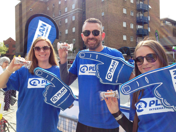 Plan International UK, the London Marathon and Ollybars!
