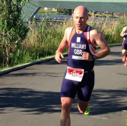 Ian Williams and the 2016 World Triathlon Championships