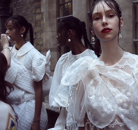 The Simone Rocha show with Karla Otto