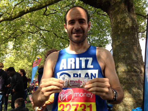 Plan UK London Marathon Ollybars