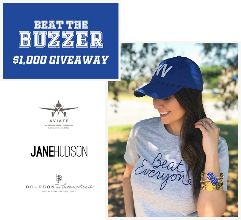 Beat the Buzzer Giveaway