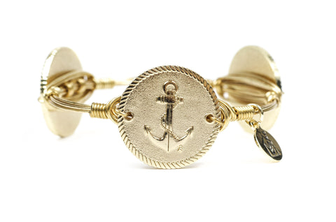 B&B x RMHCTB Anchor Bangle Bracelet