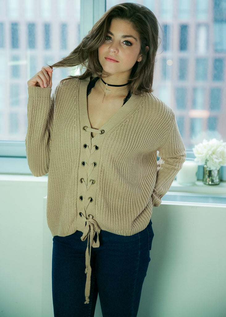 The Perfect Sweater: Tan