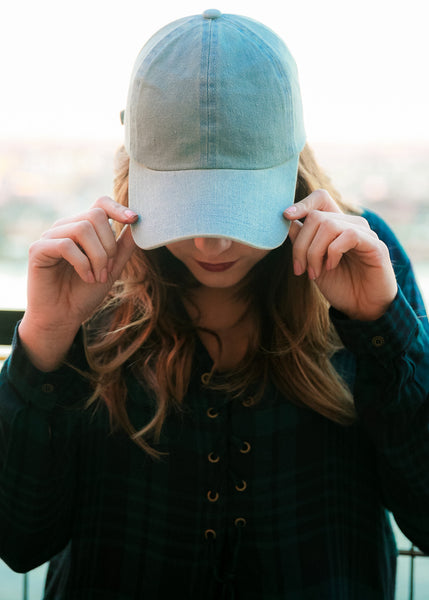 Denim Babe Baseball Cap