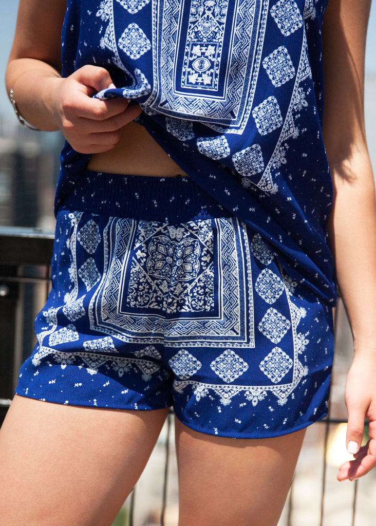 Island Bound Shorts: Navy