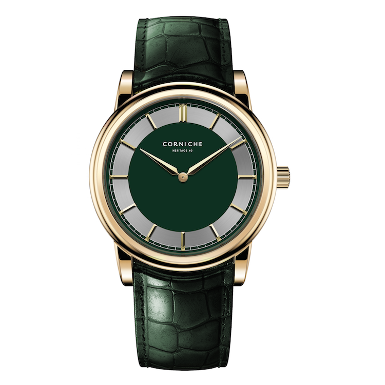 Heritage 40 - Green & Yellow Gold - C2