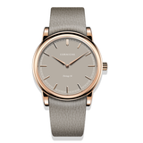 Heritage 36 - Rose Gold with Taupe Dial
