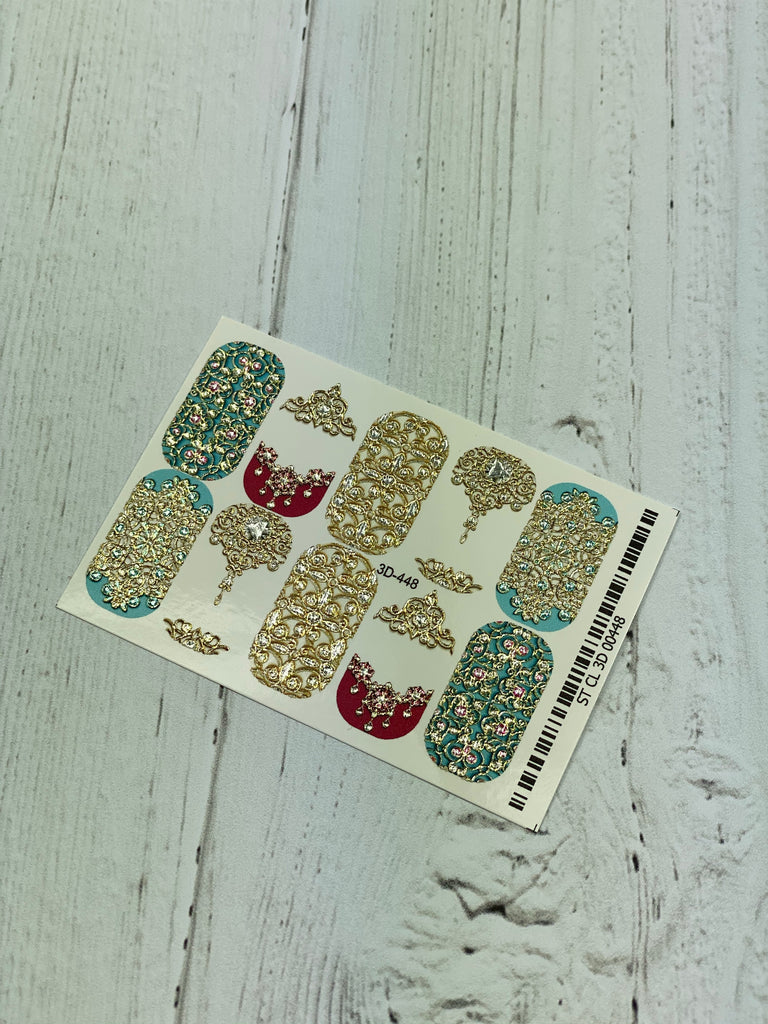 3D Japanese Nail Decals