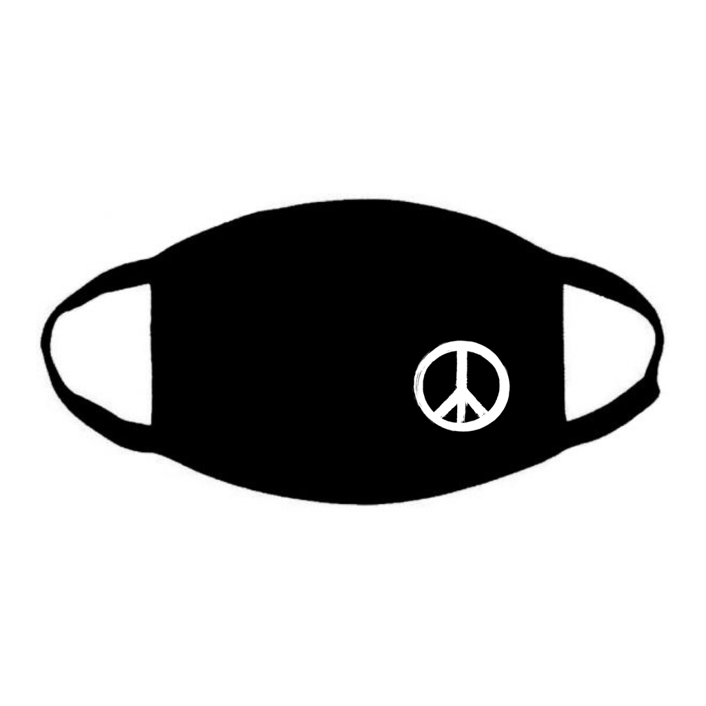 Resuable Face Mask With Peace Logo