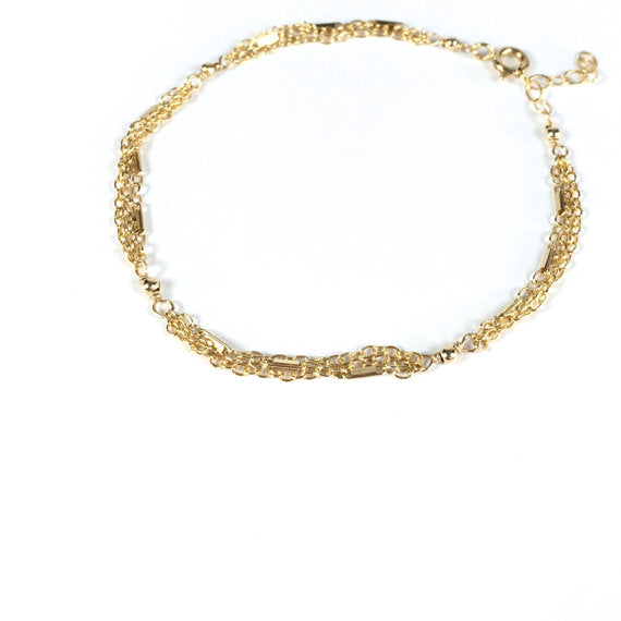 Alex - 14k Gold Filled Chain Bracelet
