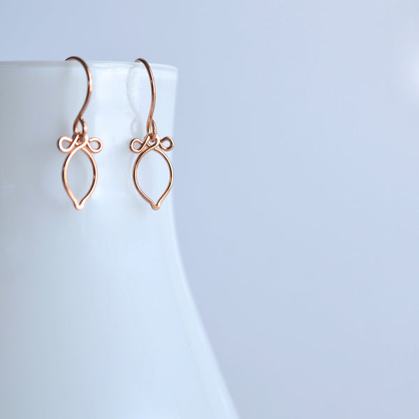 Andy - 14k Rose Gold Filled Earrings