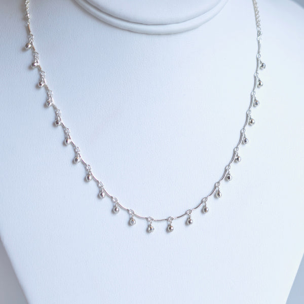Leticia - Sterling Silver Choker Necklace