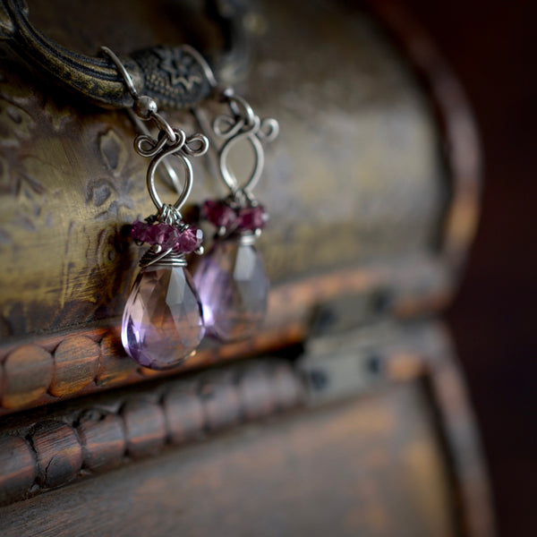 Little Rita - Ametrine, Sterling Silver Earrings