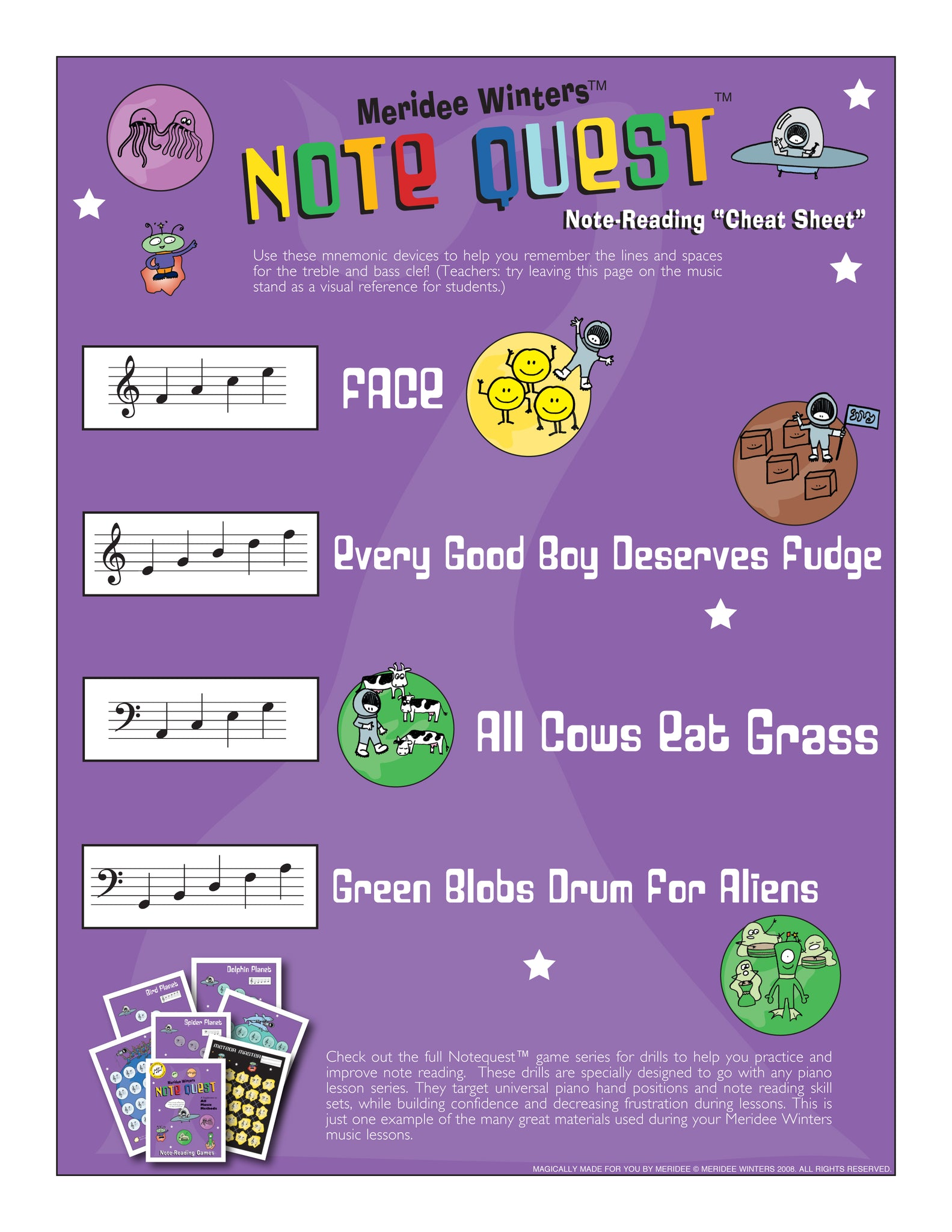 Meridee Winters Music Method Splat Music Game