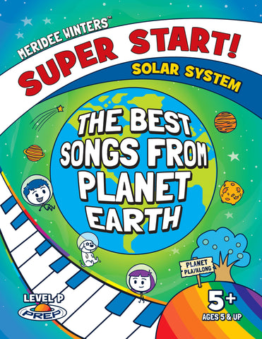 (DIGITAL COPY / SINGLE LICENSE PDF) Super Start! Songbook - The Best Songs From Planet Earth
