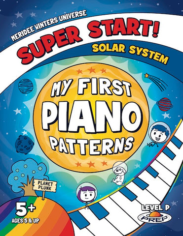 (DIGITAL COPY / SINGLE LICENSE PDF) Super Start! My First Piano Patterns