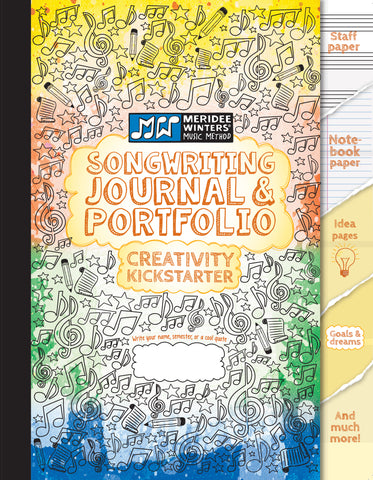 Songwriting Journal and Portfolio