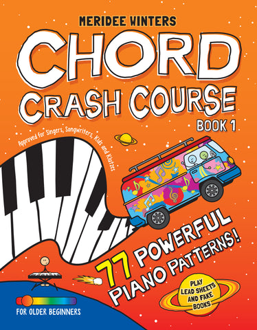 (SPIRAL BOUND) Meridee Winters Chord Crash Course Book 1