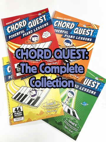 Chord Quest Complete Collection: Levels 1-4