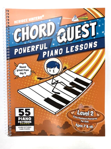 [SPIRAL BOUND VERSION] CHORD QUEST Powerful Piano Lessons Level 2