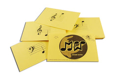 Meridee WInters Music Method Notequest Notereading Flash Cards