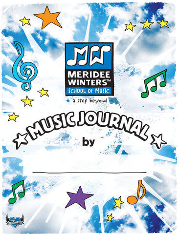 Meridee Winters Beginner Music Journal (SPIRAL BOUND)