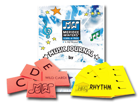 Meridee Winters Beginner Music Journal Bundle