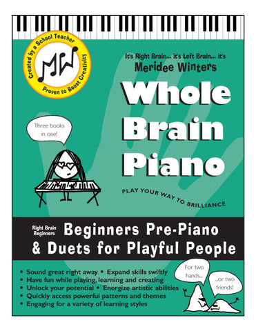 Meridee Winters Whole Brain Piano