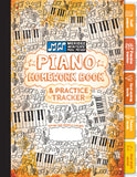 Piano Homework Book & Practice Tracker