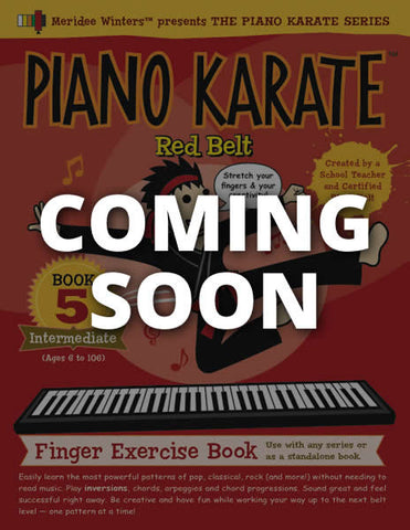 Piano Karate Level 5: Red Belt