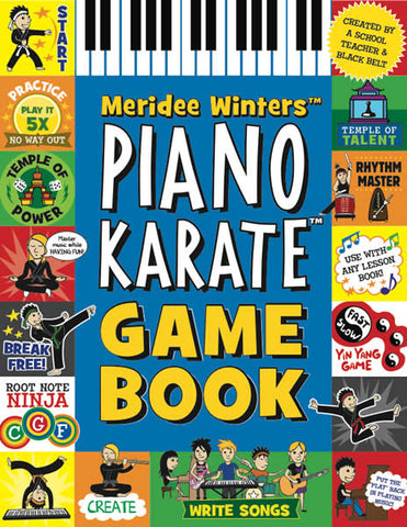 Piano Karate Game Book