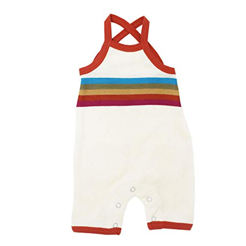 L'ovedbaby Unisex Baby Sleeveless Organic Cotton Terry Cloth Overall–Tennis Club