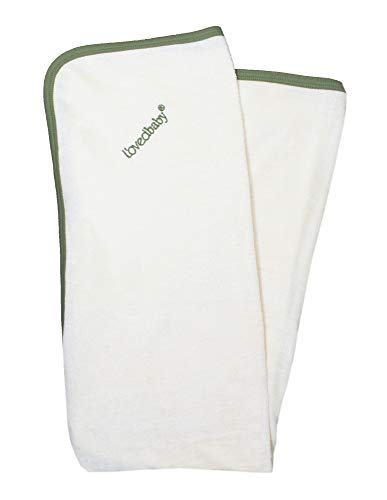 L'ovedbaby Organic Cotton Terry Cloth Swaddling Blanket – Tennis Club Collection