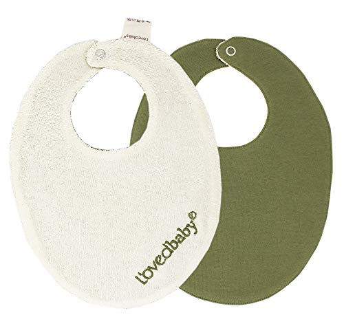 L'ovedbaby Unisex Baby Organic Terry Cloth Reversible Bib-Tennis Club Collection